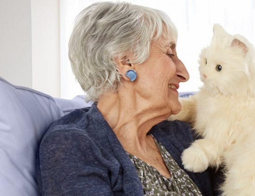 Beneficios de los gatos para las personas mayores