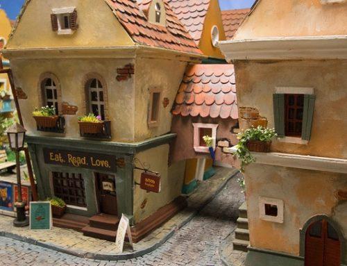 La espectacular ciudad en miniatura para hámsteres
